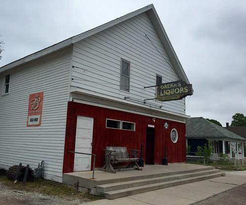 Grekas Liquors.  Rogers City Michigan.  August 13 2016.