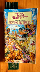 Latest Book, (Re-read) Terry Pratchett, Moving Pictures