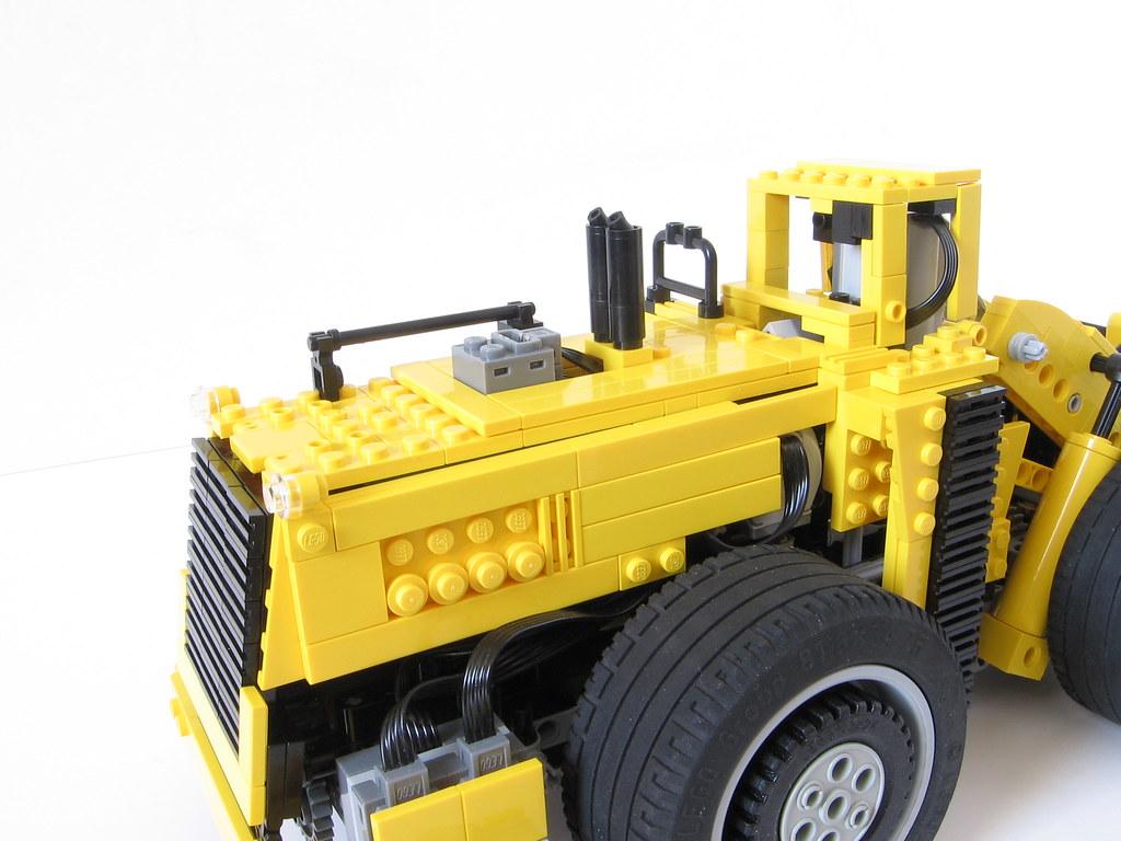 LeTourneau L-2350 Lego RC model