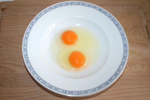 29 - Eier aufschlagen / Open eggs