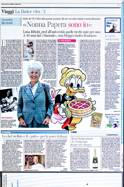 Luisa e Sabrine sul Corriere della Sera