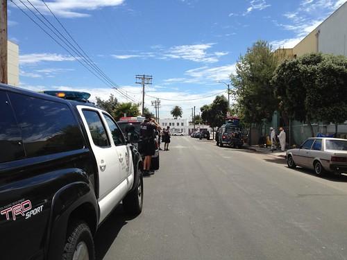 Hazmat Crews Venice Beach 4-25-12