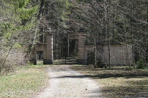 Verbotenes Tor - Schloß Linderhof