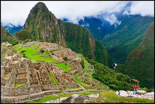 Machu Picchu - The Lost City of the Incas - View to Huayna Picchu