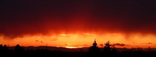 Sunset 24/04/12