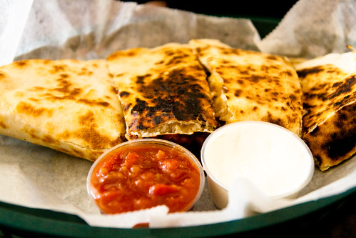 Chicken Quesadilla at Chicken Latino