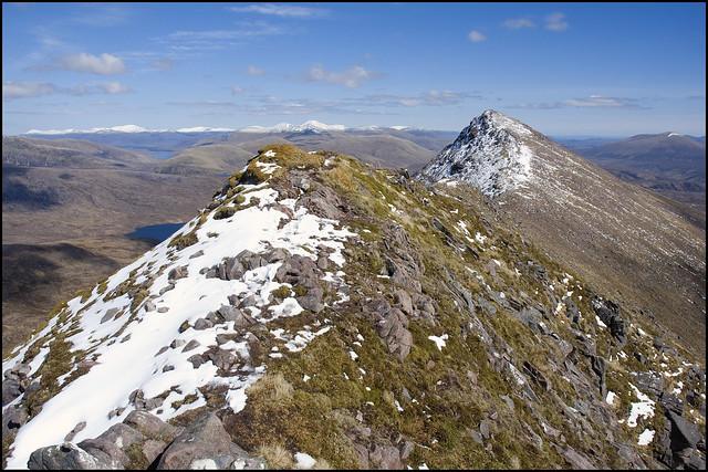 East Ridge to Sgurr an Tuill Bhain II