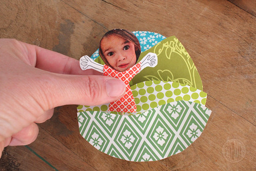 adding photo of a girl to craft magnet