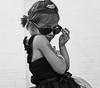 Ella as Audrey Hepburn #8 Ella having a
