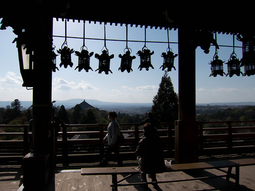 Nara from Nigatsu-do Hall