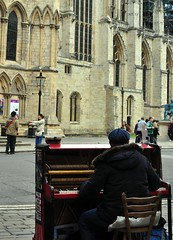 Piano at the minster