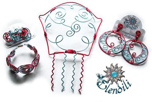 Conjunto flamenca aluminio by **Elendili**