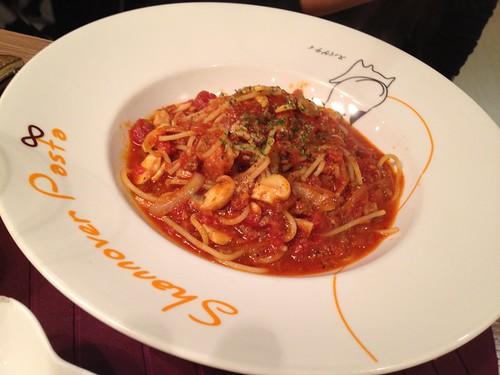 波隆那蘑菇肉醬義大利麵