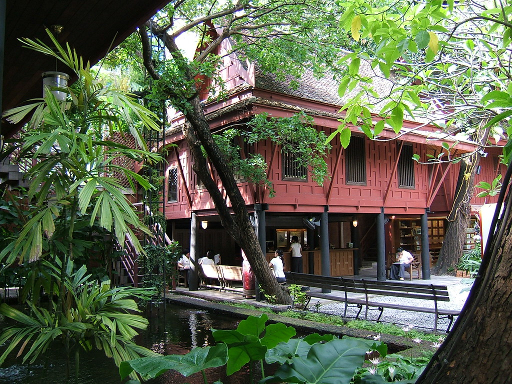 Jim Thompson House, exterior view