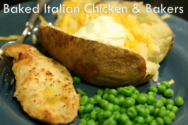 Baked Italian Chicken & Bakers
