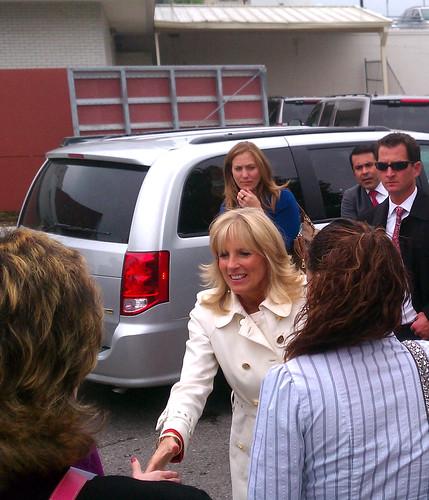 Jill Biden visits MCC