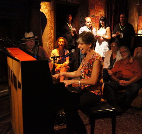 Marcia Ball plays Club 88 in the HOB Foundation Room for Piano Night. photo Bill Sasser