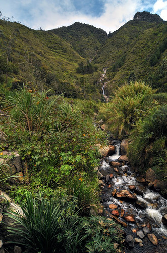 southamerica landscape waterfall ecuador nikon scenery banos cascada d300 chamana
