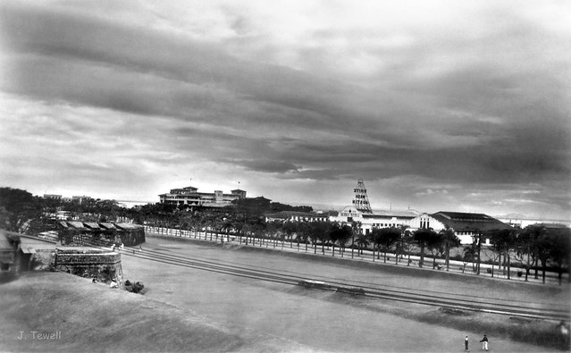 Intramuros looking out towards Manila Bay, Manila, Philippines, c1930s