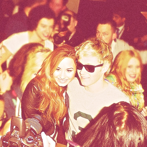 Demi and Niall