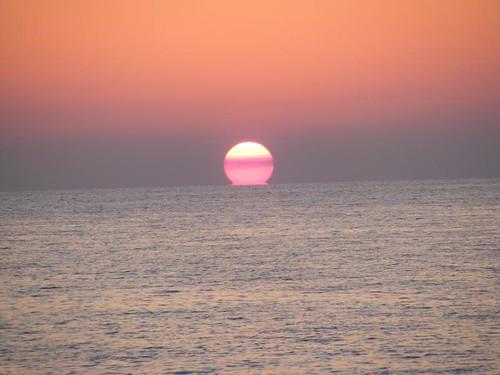 Sunset at Mangrove Cay