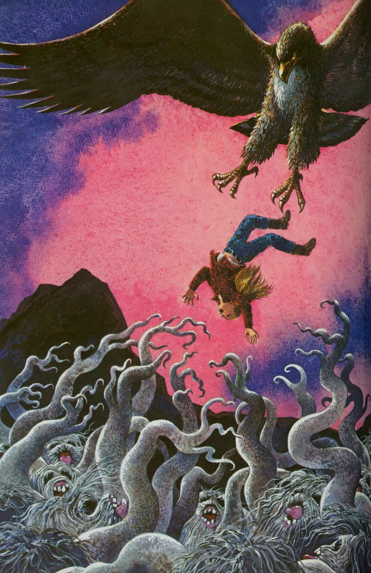 "Rod Ruth - Illustration From ""Baleful Beasts and Eerie Creatures"" 1976 (2)"