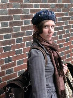 Dovecote Hat, brick wall