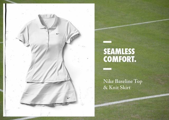 Wimbledon 2012 Nike outfits