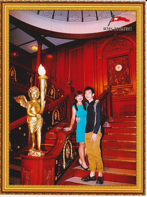 The Chewys at Titantic Grand Staircase
