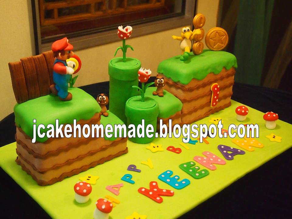 Super Mario cakes a photo on Flickriver