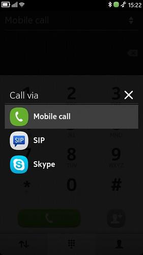 Nokia N9 Call via SIP