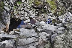Dry Crowden Clough Falls
