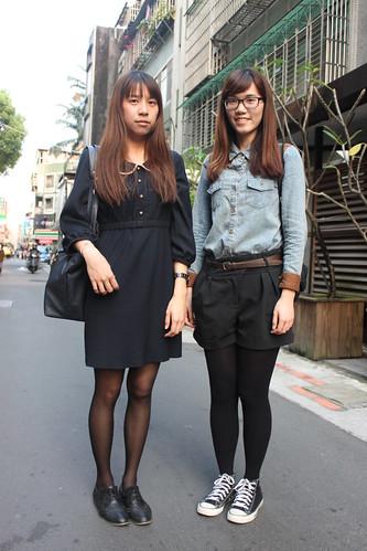 black converse on girls