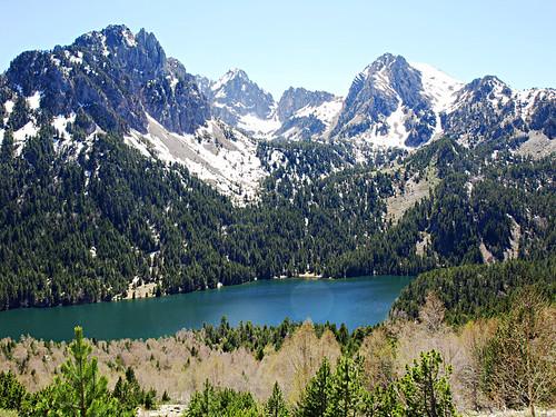 Aigüestortes I Estany de Sant Maurici National Park in Pyrenees