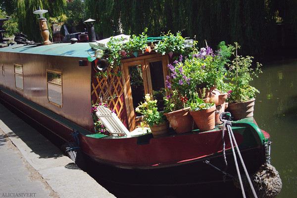 aliciasivert, alicia sivertsson, london, england, canal, canal boat, kanal, kanalbåt