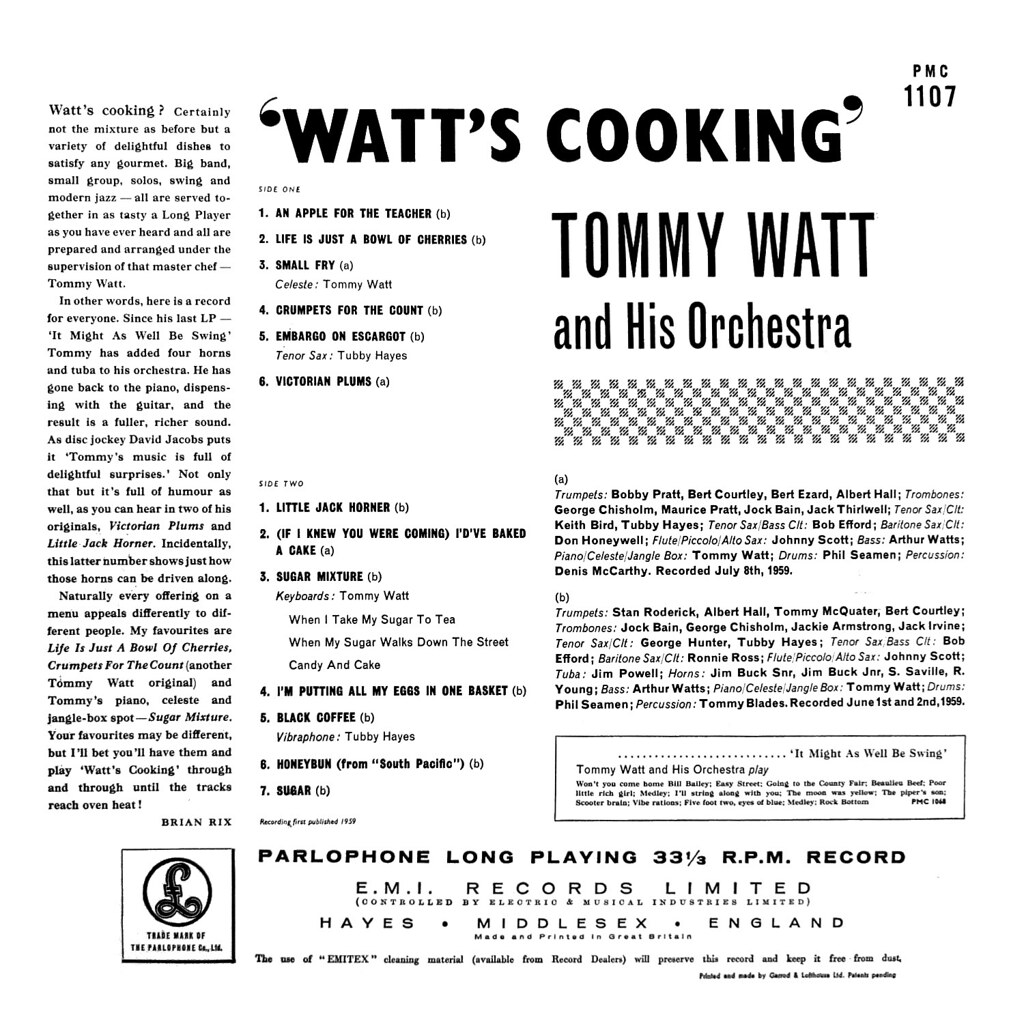 Tommy Watt - Watts Cooking