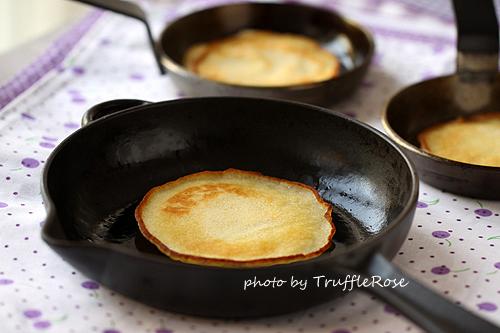 布魯斯派特洛的全球聞名煎餅 第二次試作-120530
