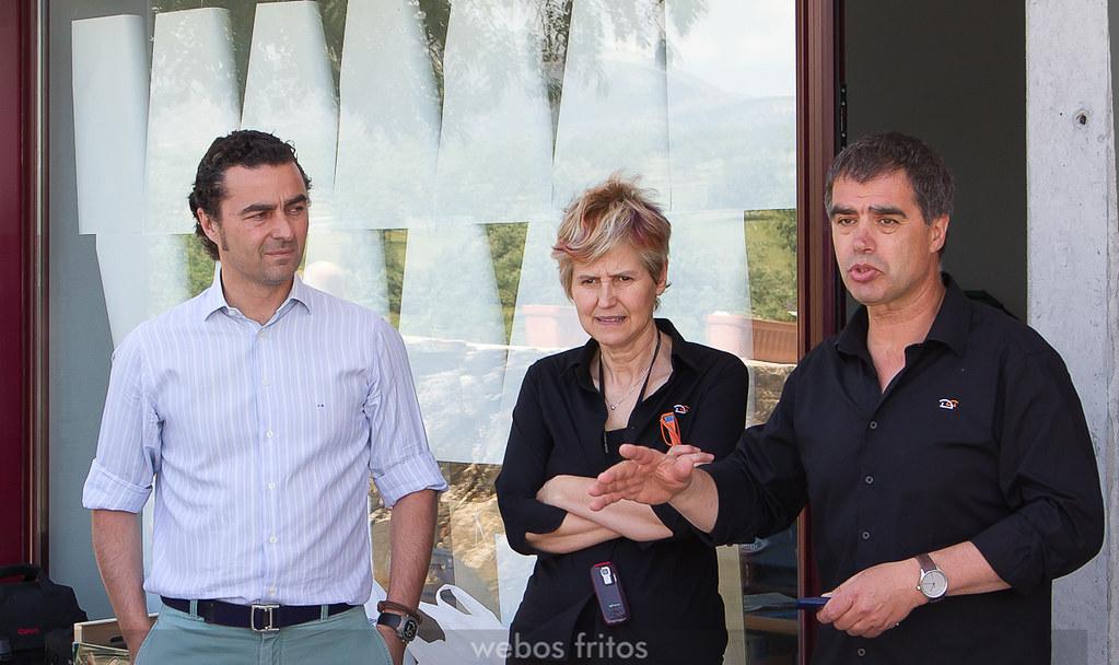 Asunción y José Luis con Julián