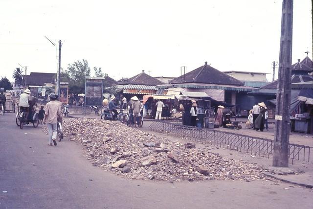 Hue 1966 - Market Place