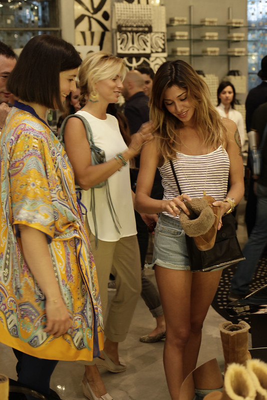 Anche Belen Rodriguez è affascianta dalla nuova Polar Sneaker di FitFlop
