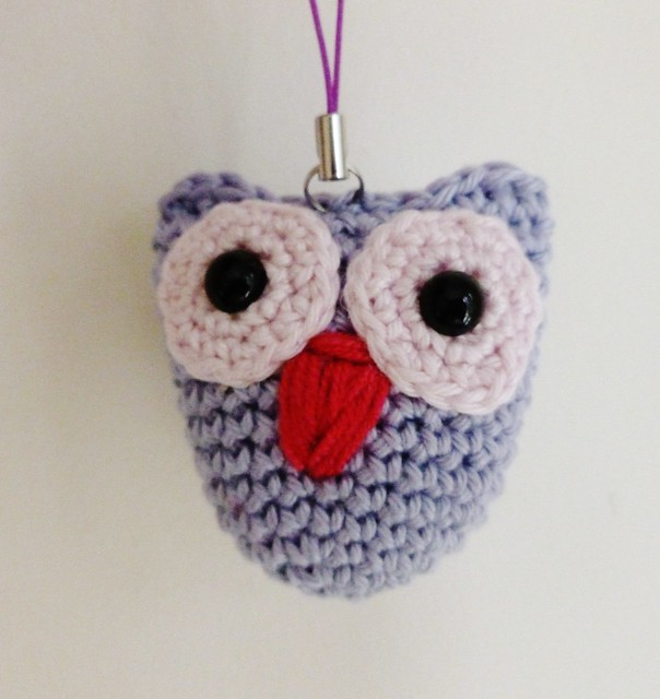 Amigurumi Owl Keyring : amigurumi owl keyring Flickr - Photo Sharing!