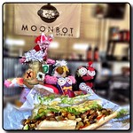 The Voodoo Dolls Lunch Marilyn's Place #monsters #louisiana #shreveport #fiberart #artdoll #kathrynusher