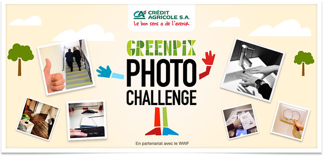 GreenPix Photo Challenge / Crédit Agricole S. A