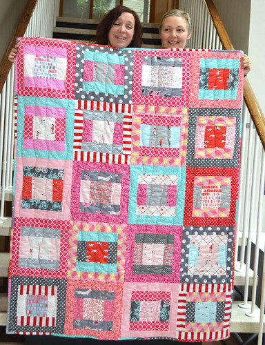 Fat Quarterly Retreat - Terri and Ceri's quilt