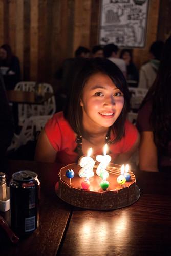 Mel's birthday
