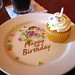 Polynesian Resort - Kona Cafe - Birthday Cupcake