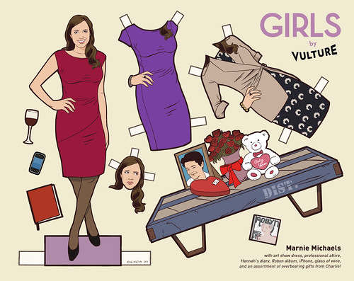 Marnie paper doll