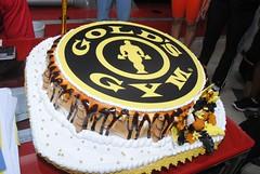 Fiesta de aniversario @ Gold's Gym Moca