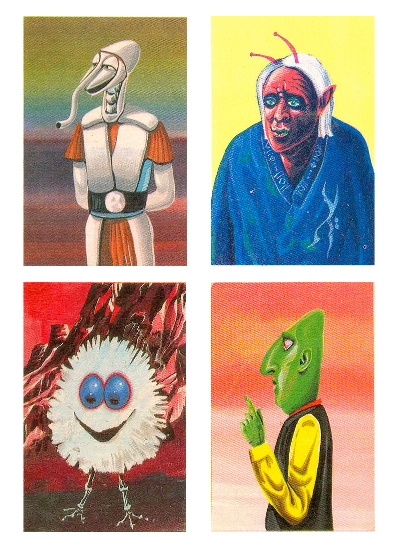 Krazy Kreatures From Outer Space - 8 (1970)