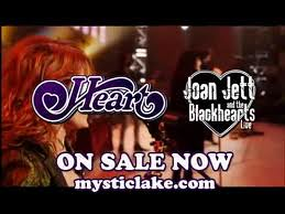 06/29/12 Heart/Joan Jett & The Blackhearts @ Mystic Lake Casino Amphitheater, Prior Lake, MN
